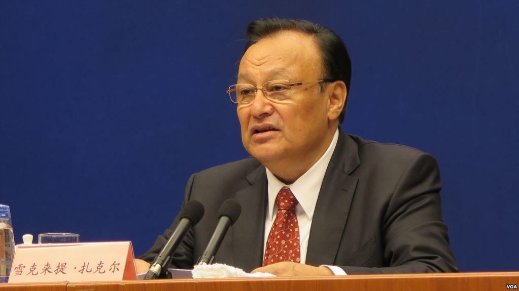 Xinjiang Eyalet Başkanı  Şohret Zakir resimleri ile ilgili görsel sonucu