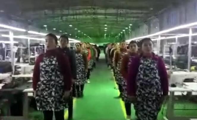 Çin'in uygurları zorla çalıştırma resimleri ile ilgili görsel sonucu
